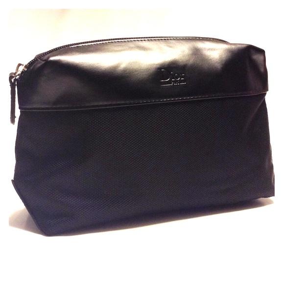 Christian Dior Bags Dior Parfum Black Trousse Travel Makeup Pouch